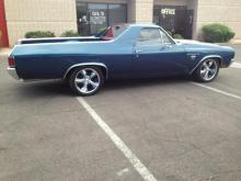 1970 Chevy El Camino (Blue)