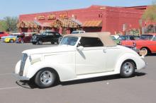 1937 Chevy Custom 2 door Convertible Vanilla White