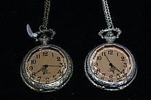 2 Pocketwatches with Chain
