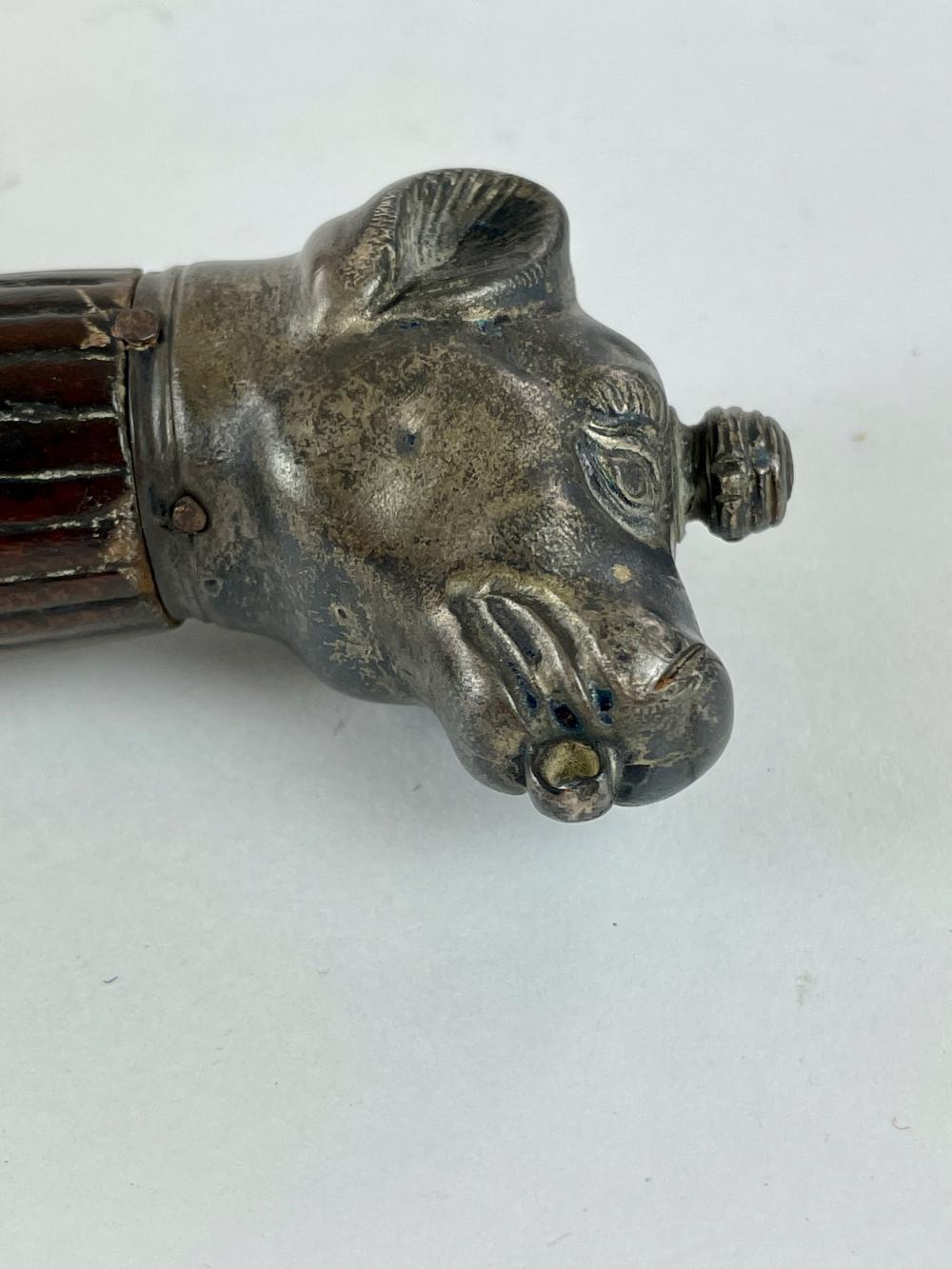 19th Century Sword with Dog Pommel