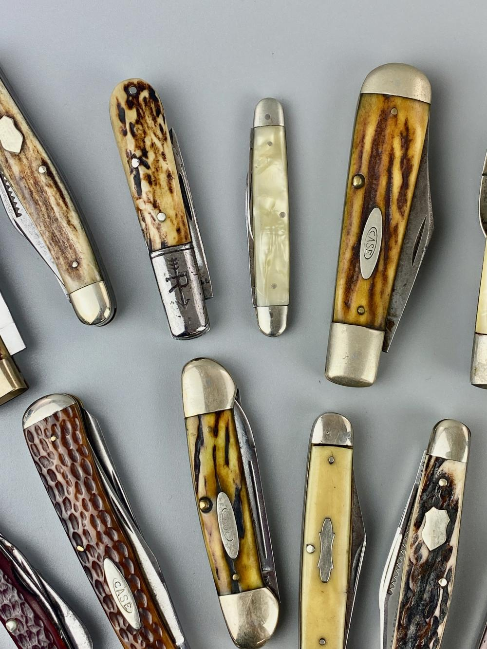 Charles Cotterill's Pocket Knife Collection