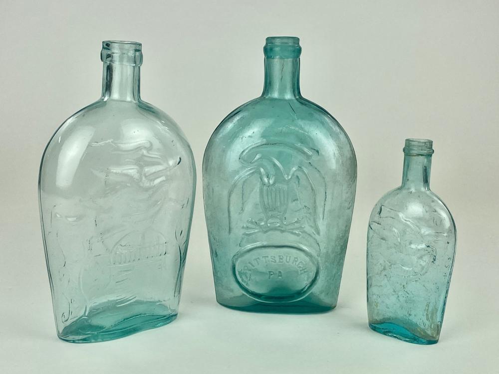 Three Eagle Bottles