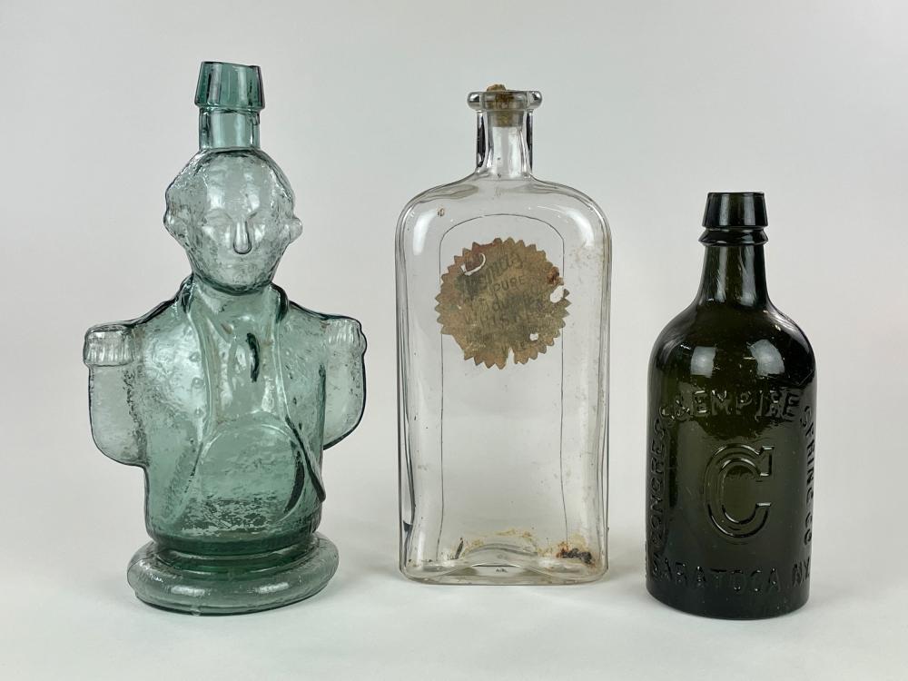 Three Early American Bottles