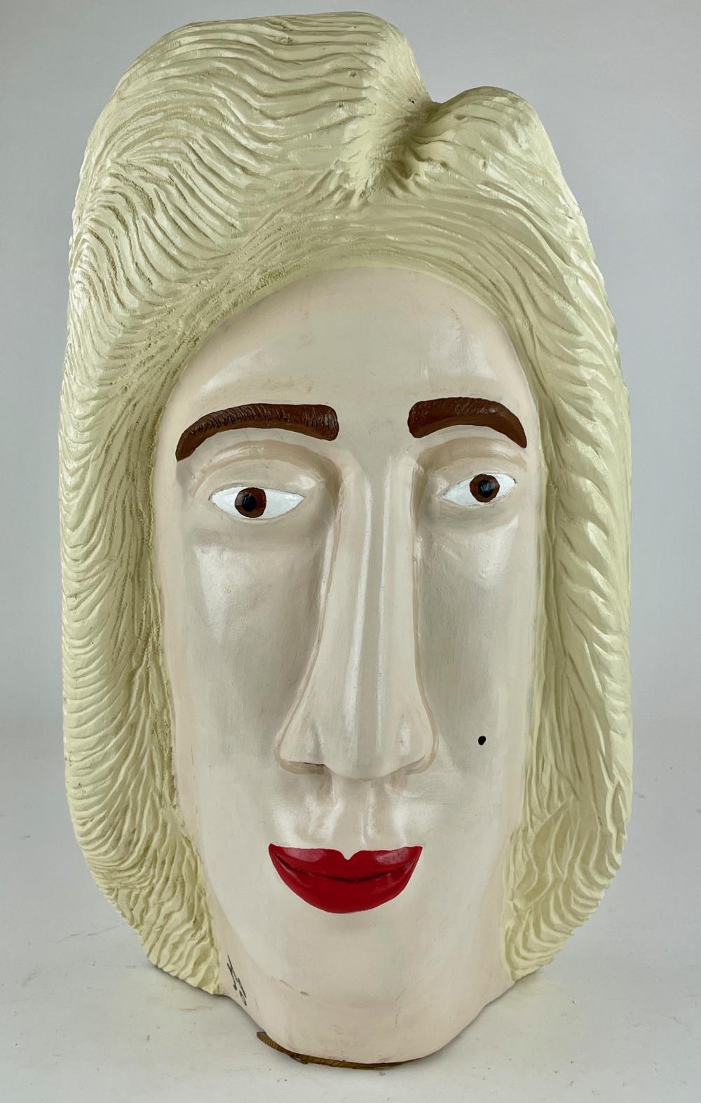 Joe McCuaig Monumental Marilyn Monroe Carving