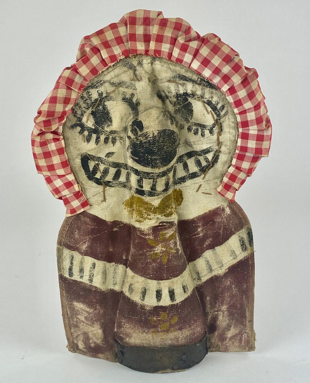 Folk Art Carnival Knock Down Clown