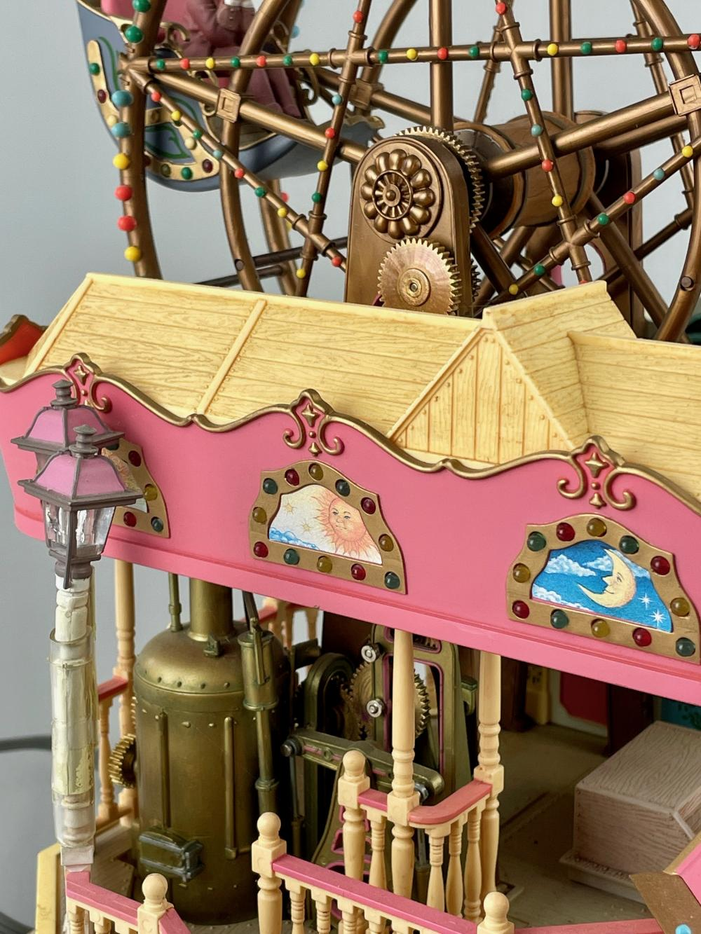 20th Century Folk Art Merry go Round