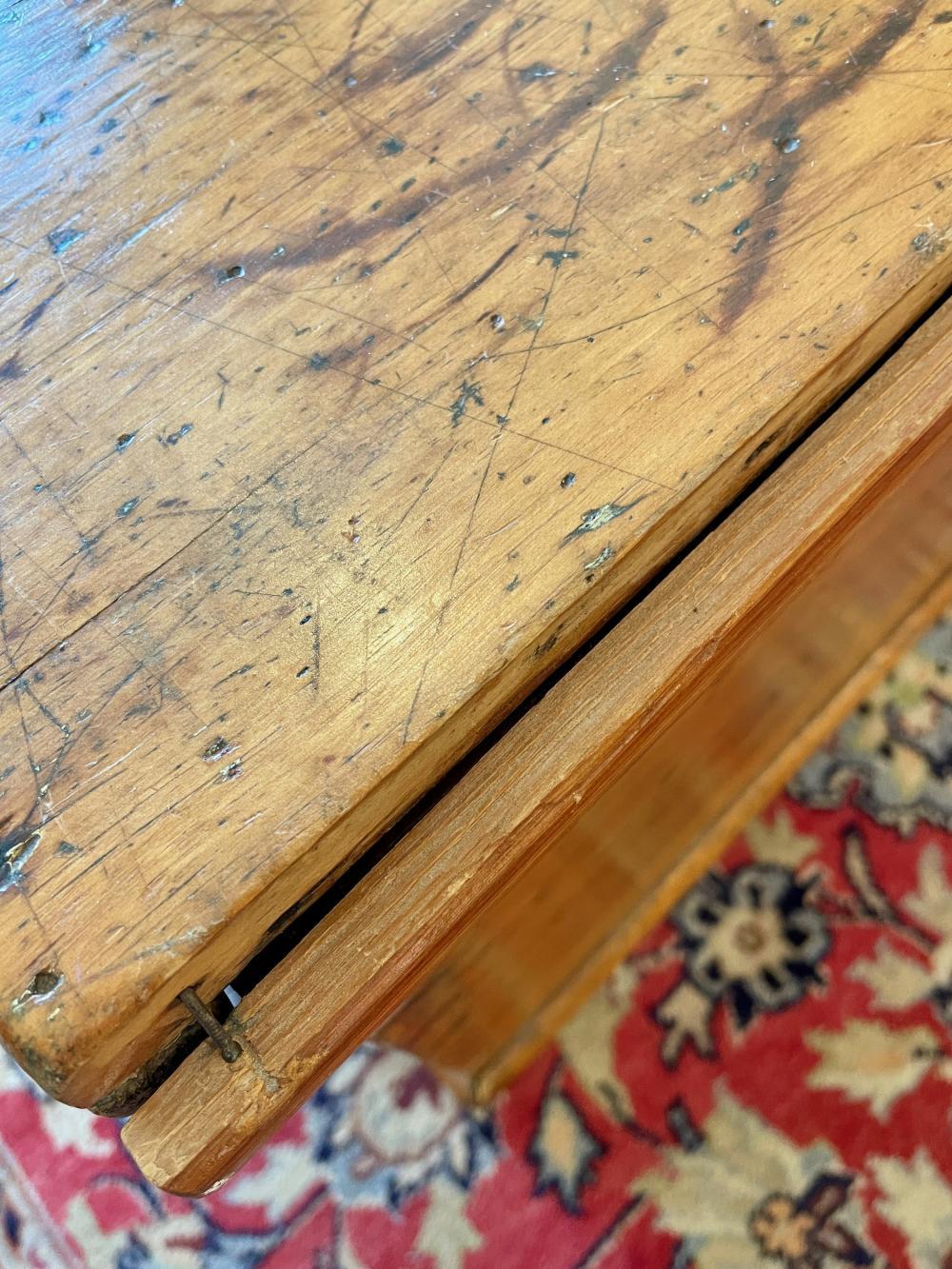 19th Century Pennsylvania Pine Blanket Chest