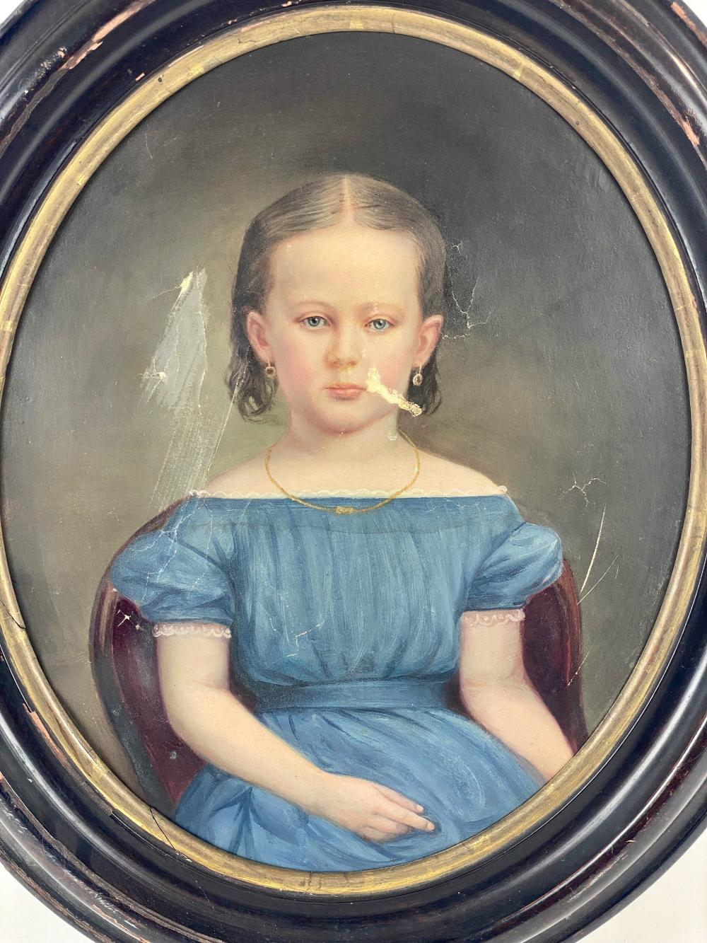 19th Century Portrait of a Girl