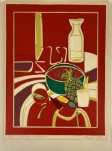 """""""Ananas"""" by Francoise Gilot (French, b. 1921)"""