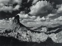 """Jody Forster (b. 1948), """"Weaver's Needle and Boulder Canyon, Superstition Mountains, Arizona, 1982"""""""