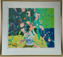 Silkscreen Still Life by Pang Jen