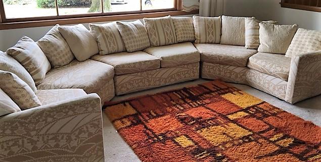 Enjoyable 4 Section Late 1960S Early 1970S Sectional Sofa By Selig Creativecarmelina Interior Chair Design Creativecarmelinacom