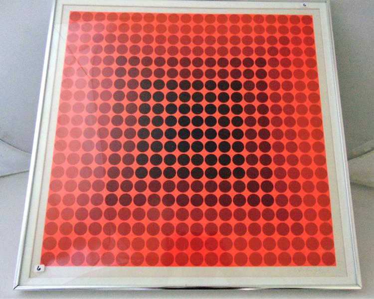 Victor Vasarely (Hungarian, 1906-1997),
