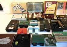 Huge lot of view masters to include Realist, Kodak, TDC stereo viewer, and more