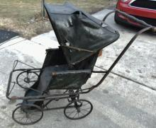 Turn of the century child's buggy/carriage in as is condition