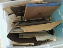 Large tub of instant family photos