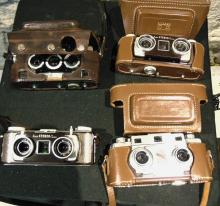 Two Kodak Stereo, Revere, and a Stereo Realist