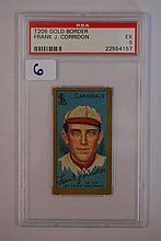 1911 T205 Gold Border Frank J. Corridon PSA EX 5