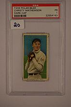 1909-1911 T206 Polar Bear Christy Mathewson Dark C
