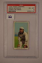 1909-1911 T206 Sweet Caporal Simon Nicholls Hands
