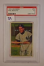 1952 Bowman 52 Phil Rizzuto PSA VG 3