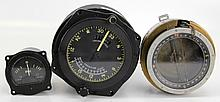 3 WWII AIRPLANE GUAGES