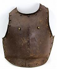 18th CENTURY ARMOR BREASTPLATE