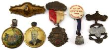 Lot 9017: CIVIL WAR VETERANS REUNION PIN LOT