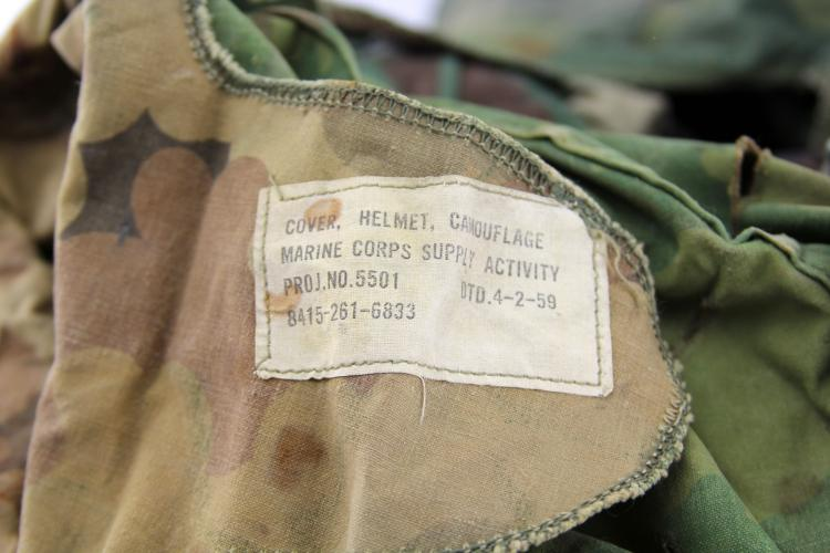 Lot 9030: 36 US M-1 HELMET COVERS