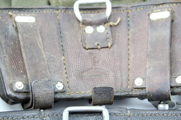 Lot 9033: GROUPING OF CARTRIDGE & MAGAZINE CASES & GEAR