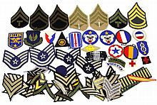 Lot 9043: OVER 50 US PATCHES