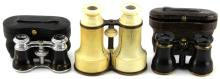 Lot 9047: 3 ANTIQUE FRENCH OPERA GLASSES