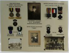 Lot 9056: SPANISH AMERICAN WAR ARCHIVE OF SGT D F MCCARTHY