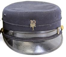 Lot 9058: SPANISH AMERICAN WAR KEPI LOT OF TWO