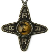 Lot 9059: 1900 OKLAHOMA CITY ROUGH RIDERS REUNION PIN