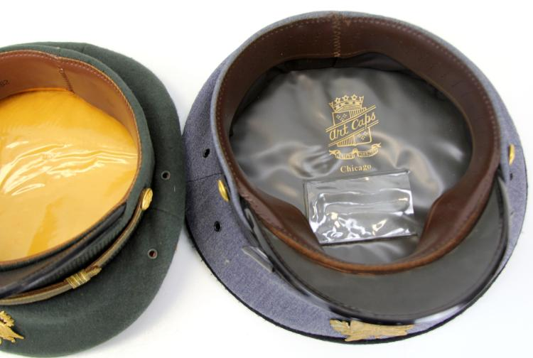 Lot 9060: SIX US MILITARY CAPS WWII TO VIETNAM