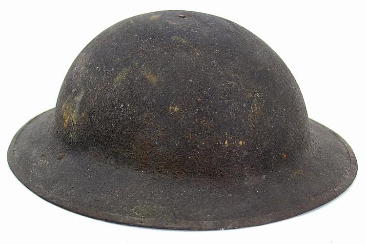 WWII US ARMY M1917 DOUGHBOY BRODIE HELMET