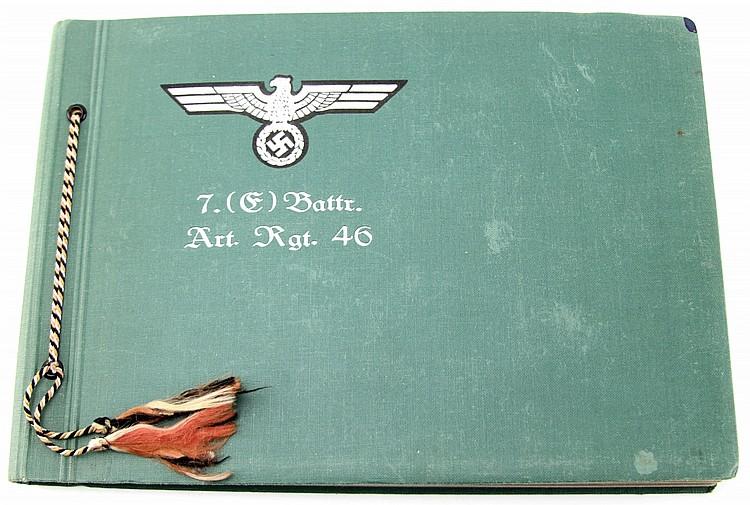 WWII GERMAN PHOTO ALBUM HIMMLER HEYDRICH