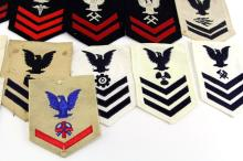 Lot 9095: 24 US NAVY RATE PATCHES
