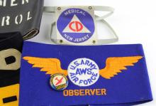 Lot 9098: WWII ALLIES ARMBAND LOT