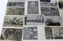 Lot 9100: WWII GERMAN PHOTO POST CARD LOT