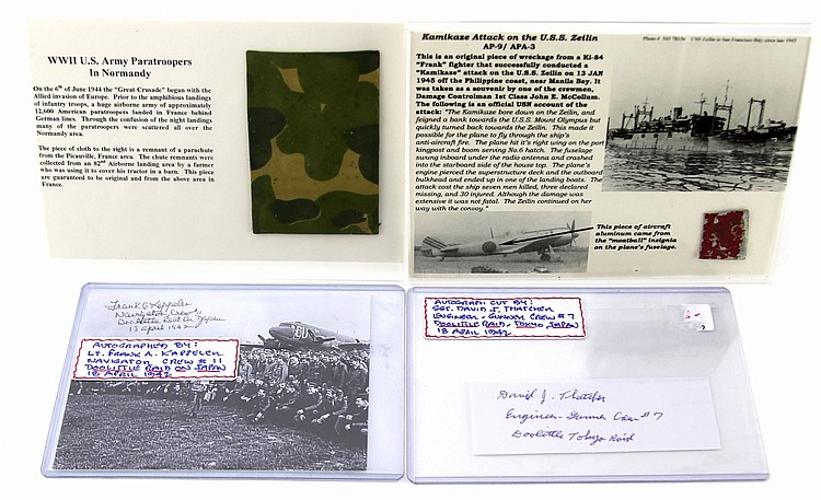 Lot 9103: WWII AVIATION COLLECTOR'S LOT