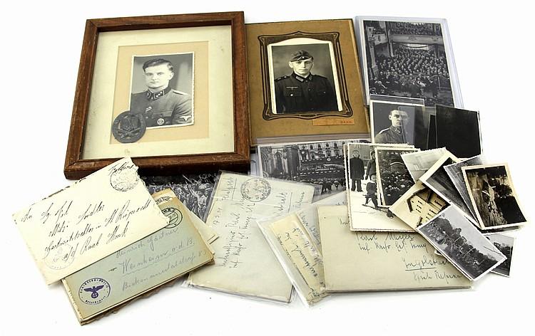 WWII GERMAN PHOTOS LETTERS & EPHEMERA