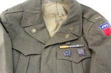 Lot 9105: WWII US ARMY UNIFORM LOT