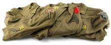 Lot 9106: WWII US ARMY UNIFORM LOT