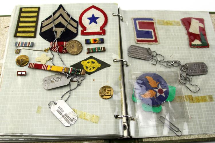 Lot 9108: LARGE WWII ARCHIVE OF US ARMY MEDIC