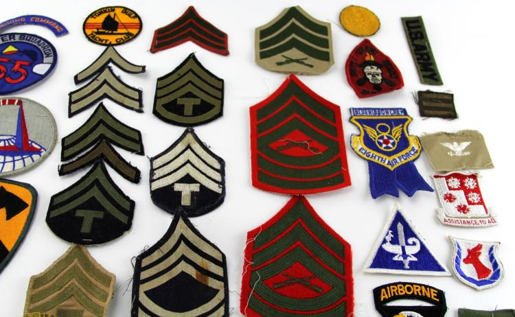 Lot 9111: OVER 50 MIXED US PATCHES