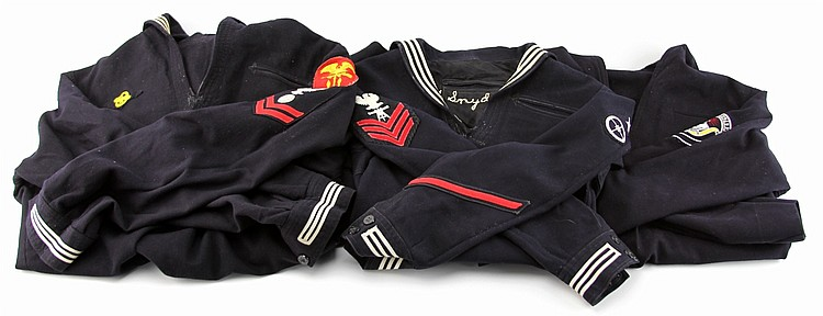 WWII US NAVY UNIFORM LOT OF FOUR
