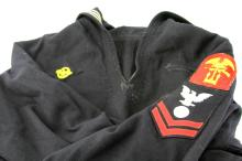 Lot 9114: WWII US NAVY UNIFORM LOT OF FOUR