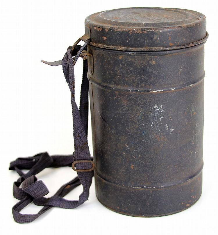 WWII GERMAN GAS MASK DPGM SCHEITHAUER RL1-40/11